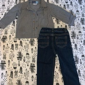 okie dokie Matching Sets - Toddler outfit
